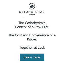 KetoNatural - The Carbohydrate Content of a Raw Diet. The Cost and Convenience of a Kibble. Together at Last.