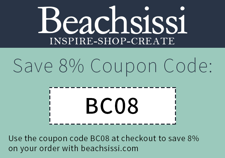 8% off for any order on beachsissi.com
