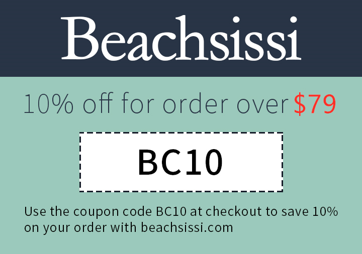beachsissi.com - 10% off for order over $79