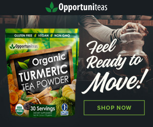 Organic Turmeric Tea - Feel Ready To Move!