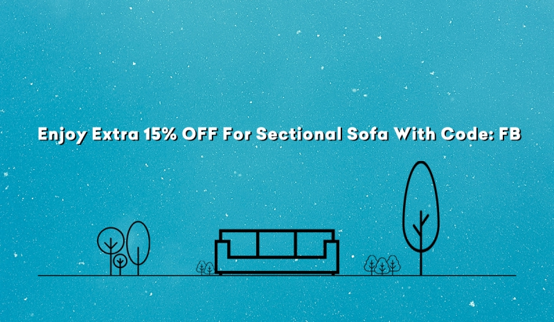 alphamarts.com - Enjoy Extra 15% OFF For Sectional Sofa With Code: FB