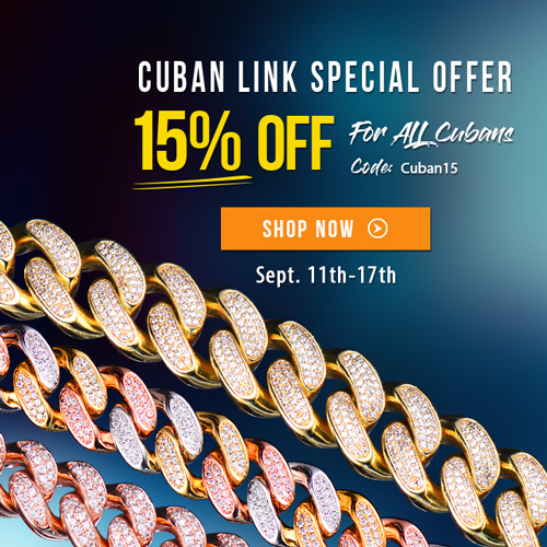 Aporro Cuban Link Special Offer 15% OFF