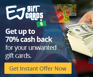 Get fast cash for your gift cards