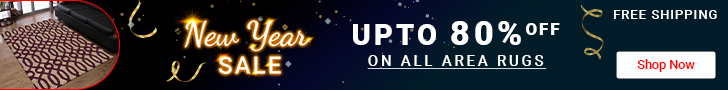 Get EXTRA 25% Discount on All Area Rugs
