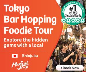 Tokyo pub crawl tours