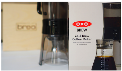 OXO Cold Brew Coffee Maker from Breo Box
