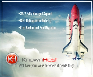 KnownHost your premium managed hosting provider.