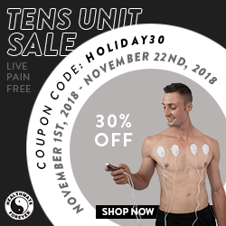30% OFF TENS Pain Therapy Units! Use Coupon Code: HOLIDAY30