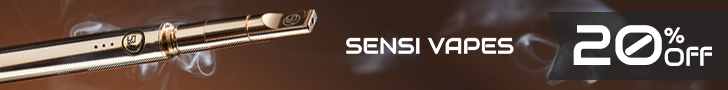 Get 20% off at Sensi Vapes - the higest quality, luxury vape producer