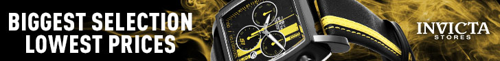 Men's watches by Invicta
