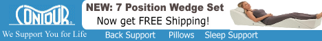 BackMax Bed Wedge System ships free!