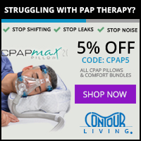 CPAPMax Pillow 2.0 from Contour Living