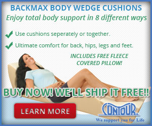 BackMax Body Wedges Ship Free