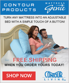 Mattress Genie Adjustable Bed Wedge - Order Now