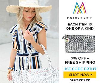 MotherErth 7% off Coupon Code ERTH7 Classy