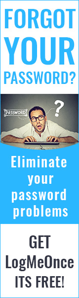 Forgot your Password? Eliminate your Password Problems with Logmeonce.com