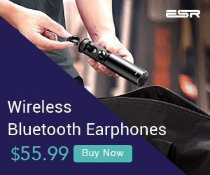 ESR Portable Wireless Bluetooth Earphones
