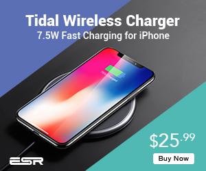 ESR 7.5W/10W Ultra-Slim Metal Frame Wireless Charger