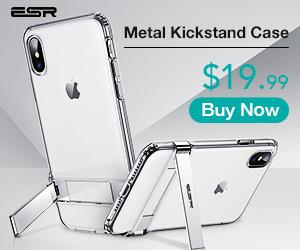 ESR iPhone XS Max Metal Kickstand Case