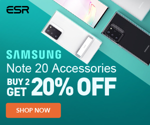 New Arrival: Buy 2+ Get 20%Off for Samsung Note 20/Note 20 Ultra Cases&Screen Protectors.