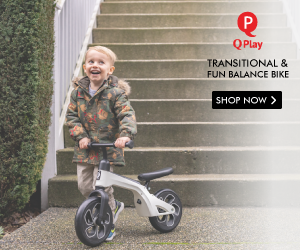 QPlay Balance Bike for Kids