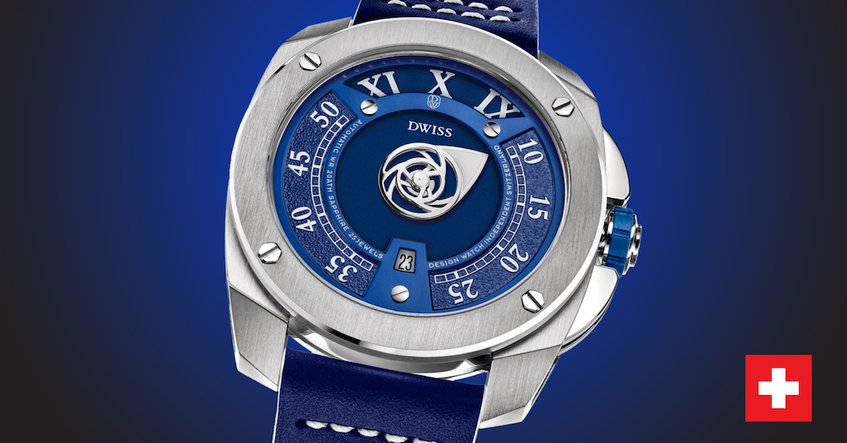 Swiss Made Luxury watches from the design-awarded brand DWISS
