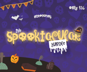 The Spooktacular Halloween Bundle by CraftBundles.com