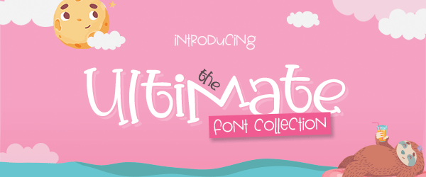 The Ultimate Font Collection, only at CraftBundles.com!