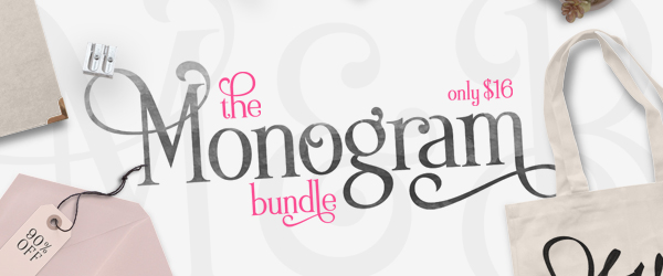 The Monogram Bundle, only at CraftBundles.com!