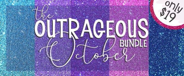 The Outrageous October Bundle, only at CraftBundles.com!