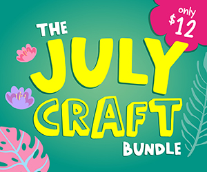 20% OFF The July Craft Bundle | Now ONLY $9.60