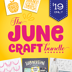 20% OFF The June Craft Bundle | Now ONLY $15.20