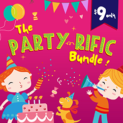 20% OFF The Party-rific Bundle | Now ONLY $7.20