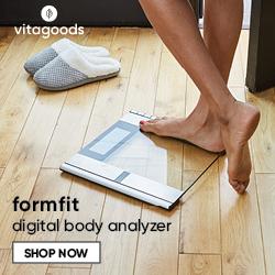 vitagoods formfit digital body analyzer banner