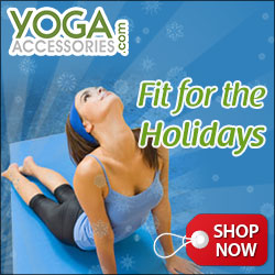 Get Fit for the Holidays with terrific yoga gifts from YogaAccessories.com