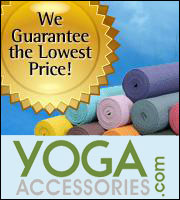 We guarantee the lowest prices at YogaAccessories.com!