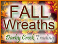 Fall Wreaths from Darby Creek Trading