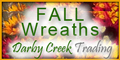 Darby Creek Trading Fall Wreath