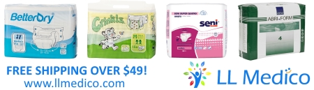 Adult Diapers - Free Shipping Over $49!