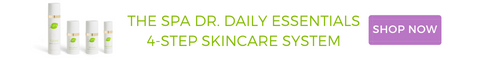 the spa dr daily essentials banner