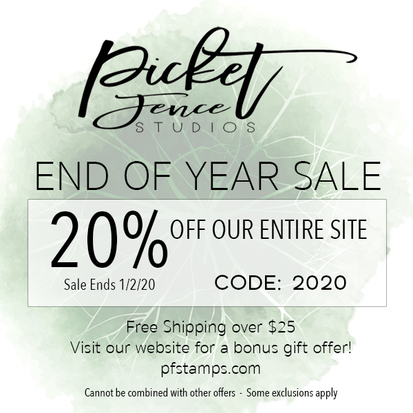 Picket Fence Studios End of Year Sale