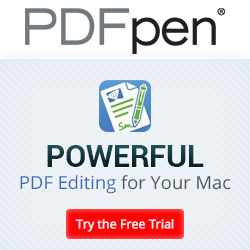 PDFpen, Powerful Editing for Your Mac