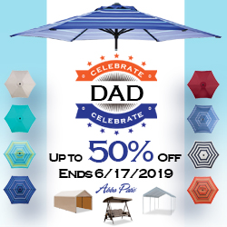 Father's Day Sale! Up to 50% Off Selet Items! Ends 6/17/2019.