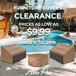 Clearance! Furniture Covers as Low as $9.99! Ends 9/30/2019.