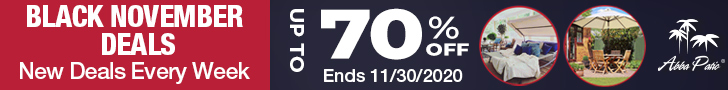 Black November Deals! New Deals Every Week! Up to 70% Off! Ends 11/30/2020.