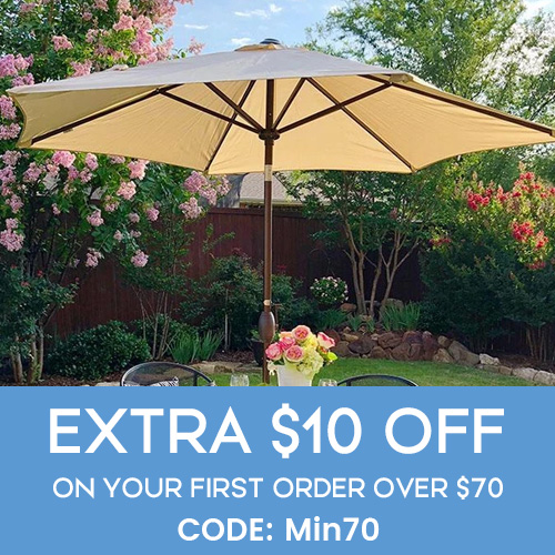 Affiliate Special Sale! Extra $10 Off on Your First Order Over $70! Code: Min70. Buy Your Home & Garden Furnitures on abbapatio.com!