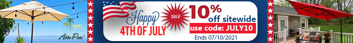 Happy 4th of July! Site Wide 10% Off Plus Free Shipping! Use Code JULY10. Sale Ends on 07/10/2021.