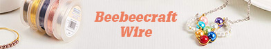 Beebeecraft jewelry making wire collection, aluminum wire, copper wire are included.