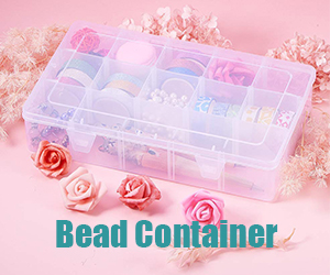 Bead containers are great for beads storage.