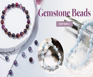 Beautiful gemstone beads and semi precious beads are the world's natural treasure and multitudinous in shapes and categories.
